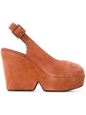 women sandals suede yellow orange shoes