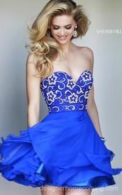 sherri hill 8548,beads homecoming dress,2014 homecoming dress