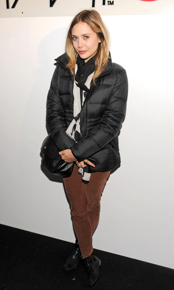 scarf jacket olsen sisters blogger bag make-up jeans