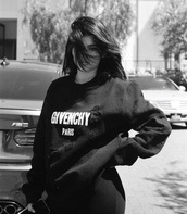 sweater,givenchy,instagram,kylie jenner,kardashians,sweatshirt