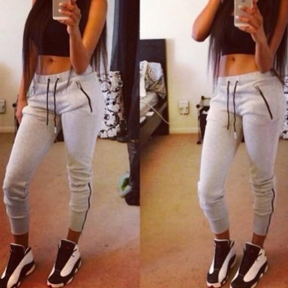 sweatpants skinny