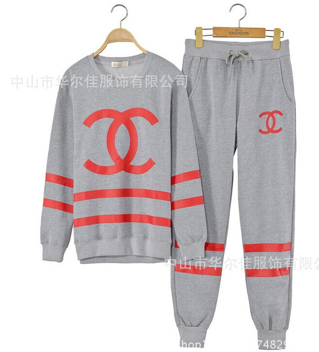 Cc coco logo striped tracksuit grey · tumblr fashion · online store powered by storenvy