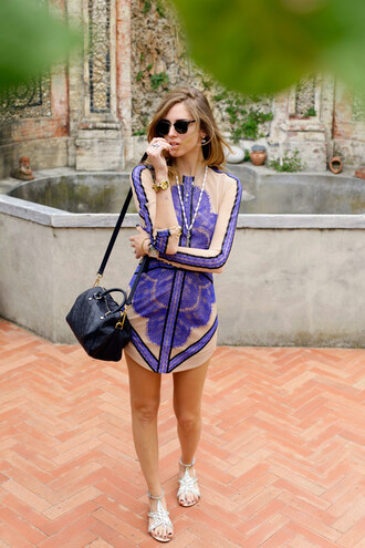 the blonde salad shoes dress jewels bag sunglasses