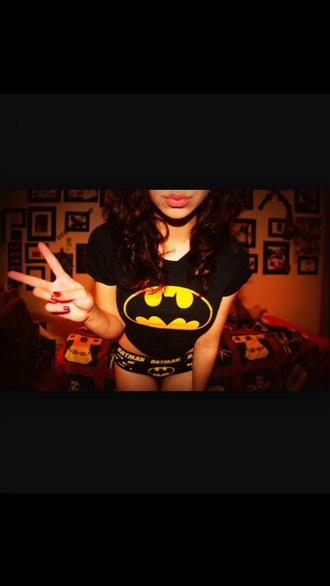 underwear top batman