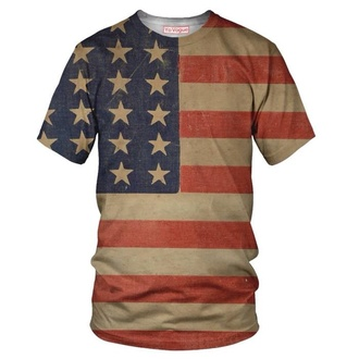 t-shirt american flag