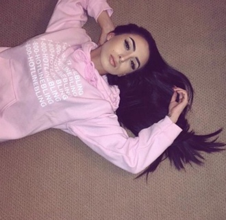 sweater pink it girl shop swag style girl