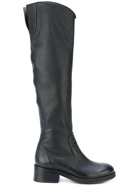 Nubikk women leather black shoes