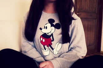 mickey mouse mickey mouse hoodies mickey mouse sweater disney sweater disney clothes red lime sunday shirt