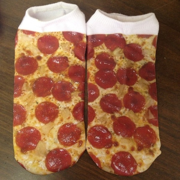 underwear pizza socks