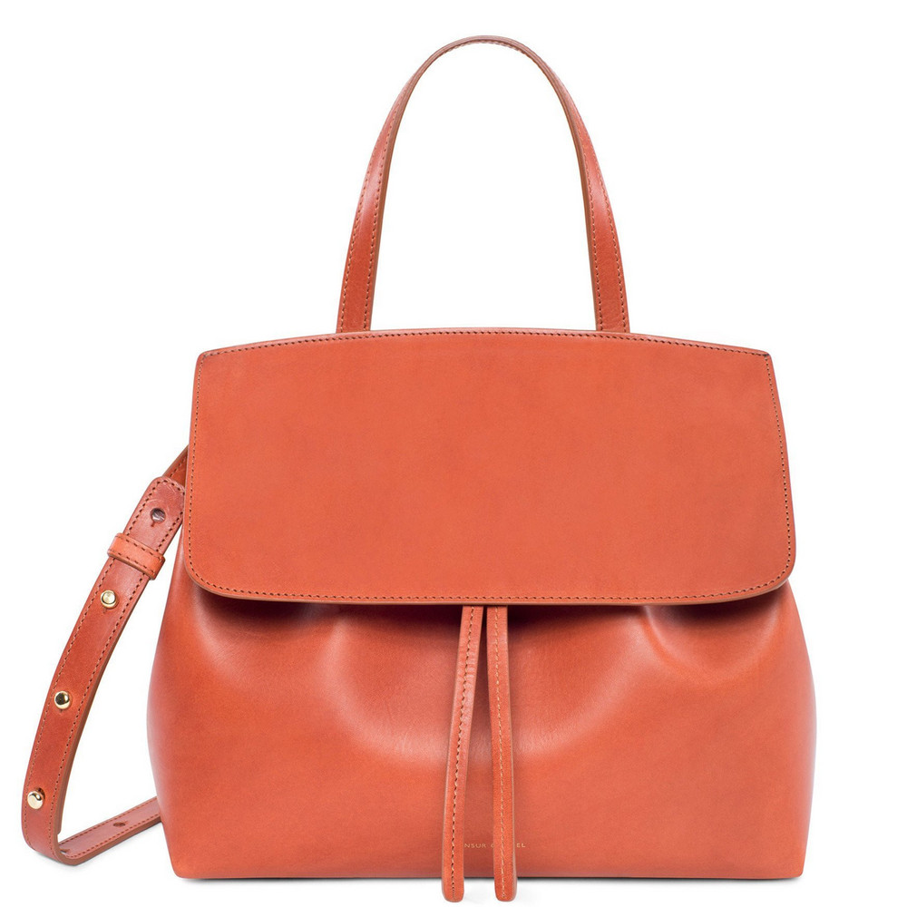 Mansur Gavriel Brandy Mini Lady Bag - Brick