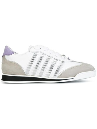 women new sneakers leather white shoes