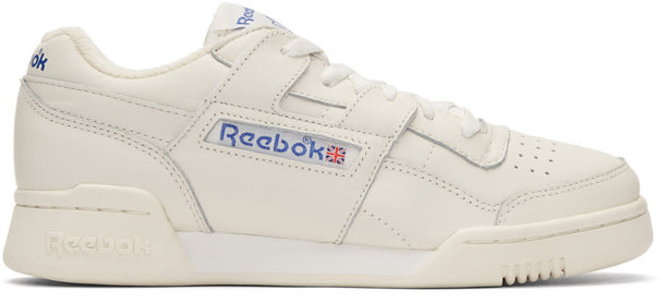 Reebok Classics workout sneakers white off-white shoes