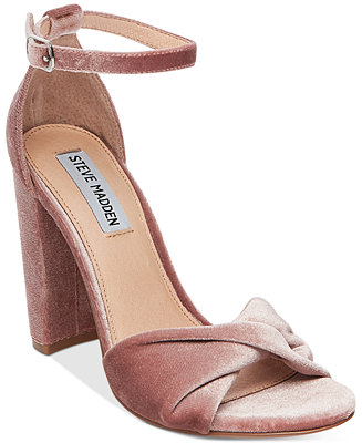 Steve Madden Women's Clever Block-Heel Sandals - Sandals - Shoes - Macy's