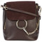 Chloé - faye backpack - women - calf leather/calf suede - one size, brown, calf leather/calf suede