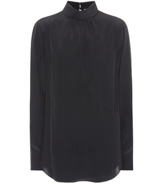 Chloe top silk black