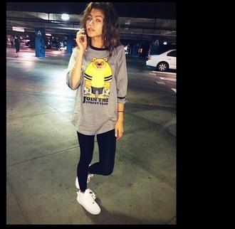 leggings swag t-shirt zendaya hippie
