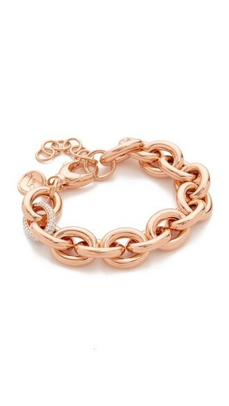 rose gold rose gold white jewels