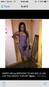 dress,bandage skirt two piece