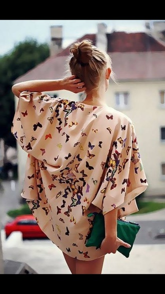 jacket kimono butterfly cardigan spring outfits