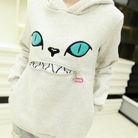 Hooded Cute Cat Fleece Sweatshirt Sweater 5 colors · Cute Kawaii · Online Store Powered by Storenvy