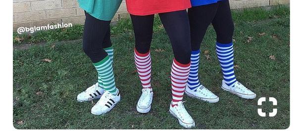 socks costume holloween