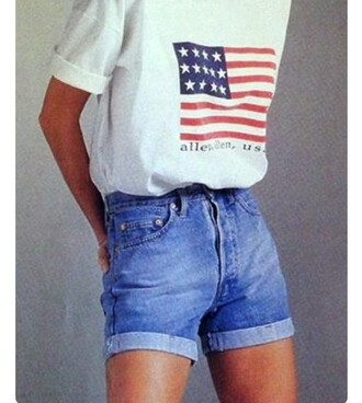 shorts jeans high wasted jean shorts vintage 90s style summer