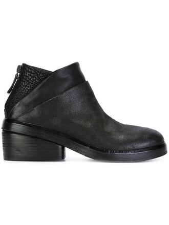 zip boots ankle boots black shoes