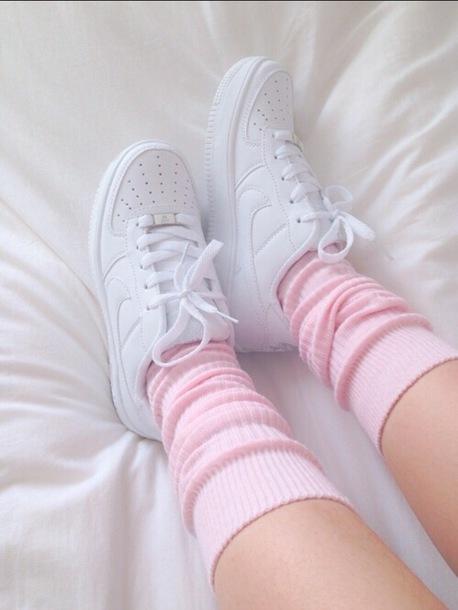 socks, cute, pink, aesthetic - Wheretoget