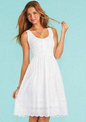 dress,midi,cute,white,amazing