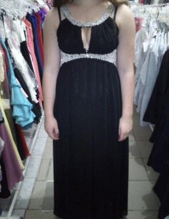 dress prom dress longprom homecoming dress beaded cut-out longdresses