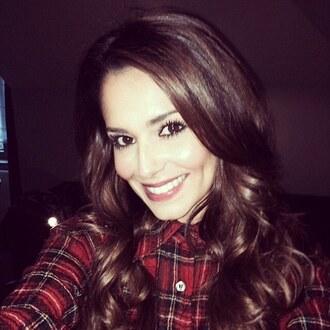 shirt flannel flannel shirt cheryl cole