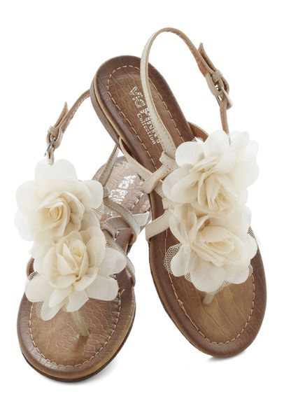 shoes sandals flat sandals flowers
