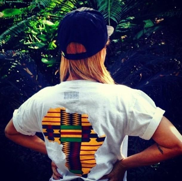 shirt africa t-shirt dope snapback african american pride lauren london