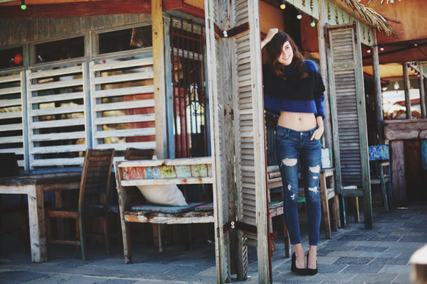 style scrapbook jeans shoes jewels