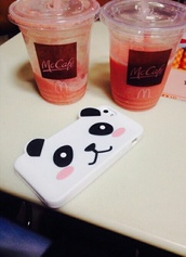 jewels,iphone,phone cover,cover,panda