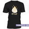 It's lit black gold unisex t-shirt - teenamycs