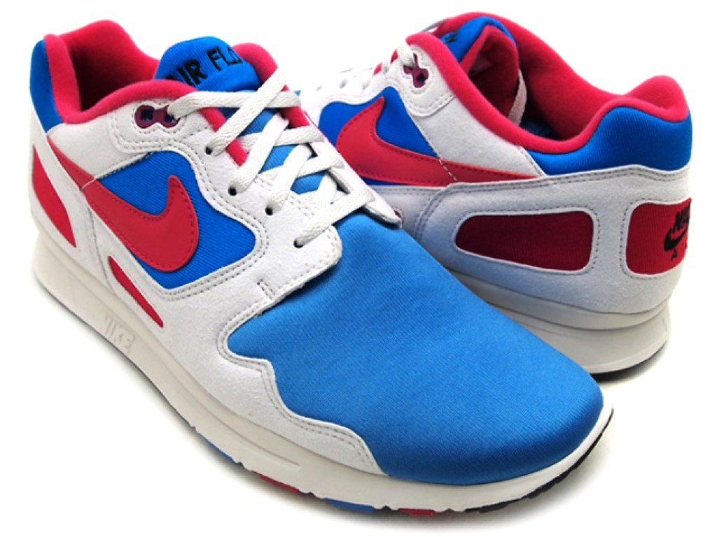 Nike Air Flow Wht Red Blu Mens 458206 400 | eBay