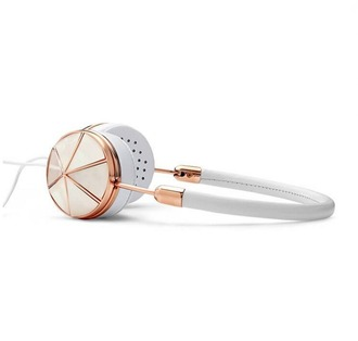 frends technology headphones pastel gold workout