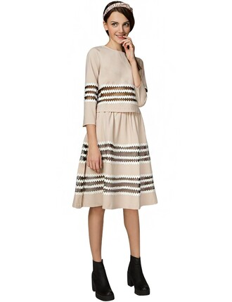 beige dress matching set dress set trendy matching sets two piece dress set minimalist dress mesh panel dress fall outfits fall trends pre fall back to school affordable fashion cute matching sets beige dresses dress affordable dresses cute fall outfits transitional pieces party dress pixie market pixie market girl