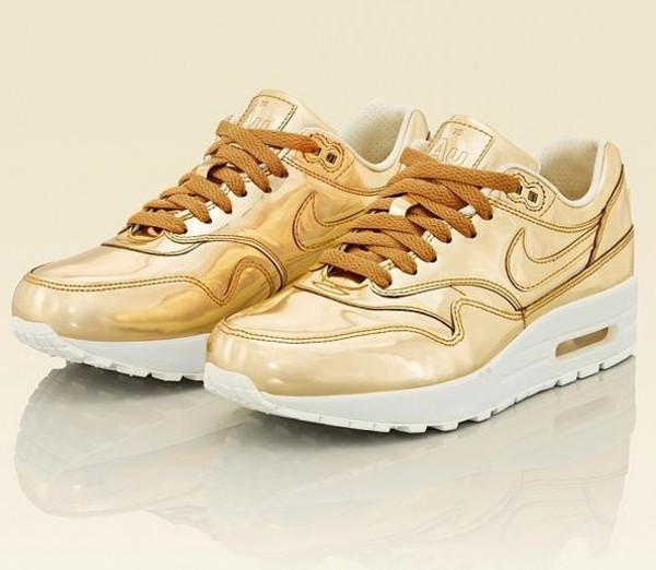 shoes air max liquid gold metallic au dope swag nigga