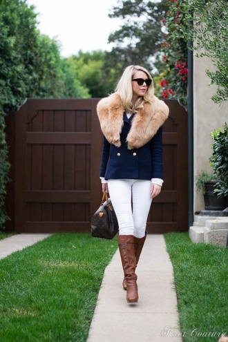 fashion addict blogger bag brown leather boots winter outfits