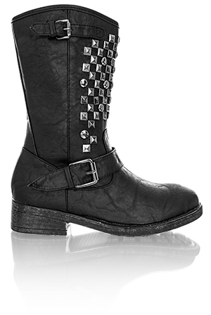 Studded Grunge Boots