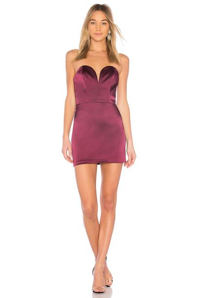 Amanda Uprichard dress mini dress mini purple