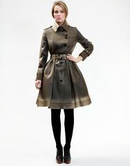 Designer raincoats: find designer raincoats at terranewyork — tribeca / smokey grey