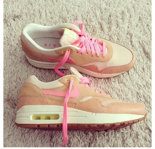 nike air max beige rose