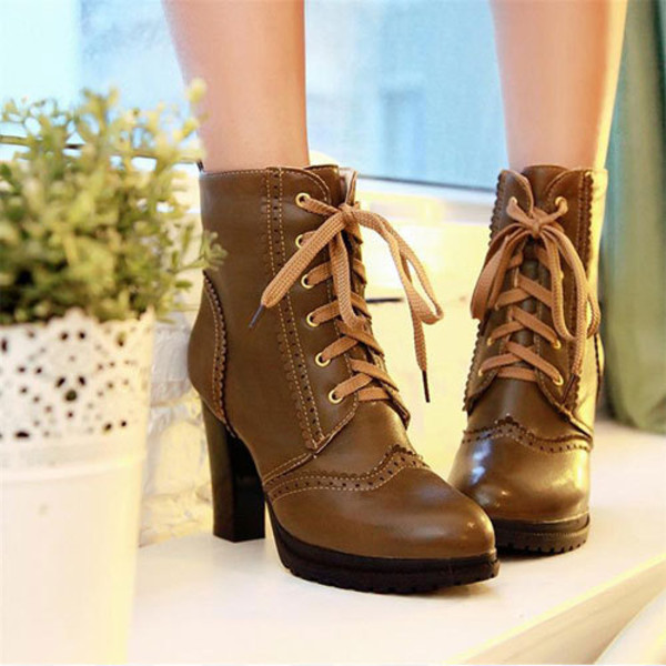 shoes boot high heel cool