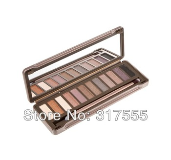 100% Original Brand Nake 12 Color Professional nk2 Eye Shadow Palette Long Lasting Natual Easy To Wear Free Shipping-in Eye Shadow from Beauty & Health on Aliexpress.com