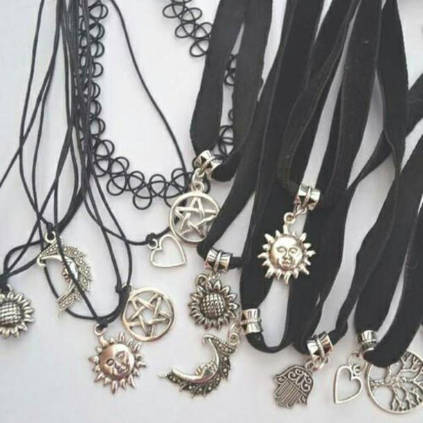jewels indie necklace