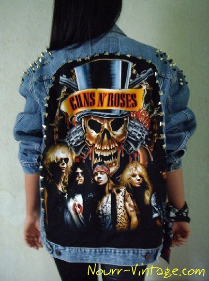 guns and roses jacket