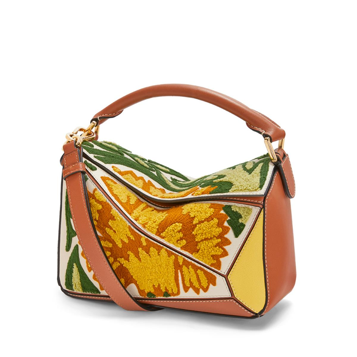 Puzzle Floral Small Bag